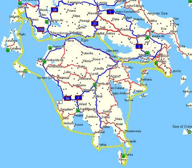 Cartina Puglia Grecia.Ancora Grecia Distanze Gommoni E Motori Forum